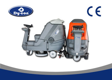 Custom Industrial Floor Scrubbing Cleaning Machines Powerful 850W Traction Motor